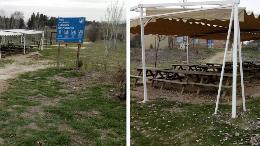 Área recreativa del Centro de educación ambiental Caserio de Henares
