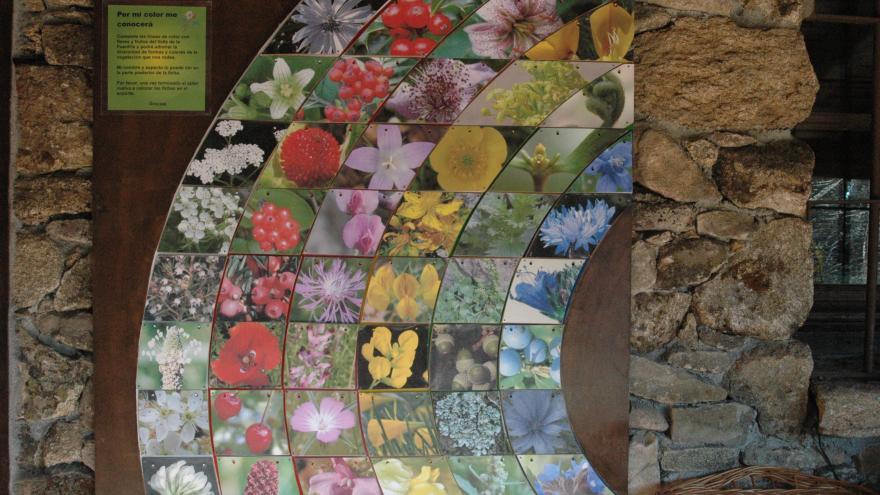 Paneles de la exposición El Valle de la Fuenfría: Una historia sostenible