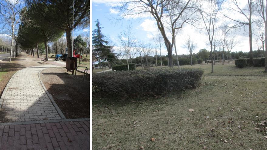 El Arboreto de la ciudad, área temática del Centro de Educación ambiental Polvoranca