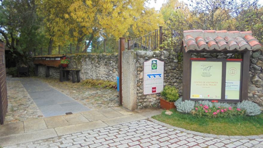 Edificio punto de información Centro Visitantes El Paular