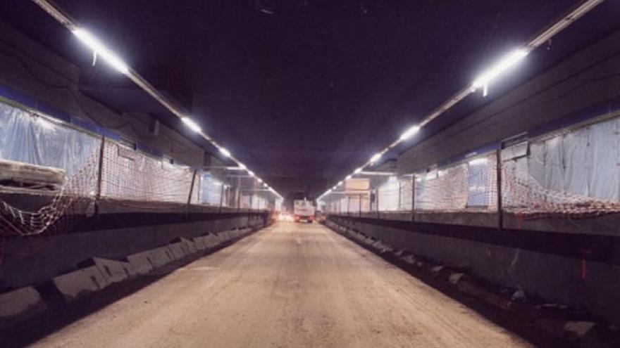 Estación en obras sin las vías