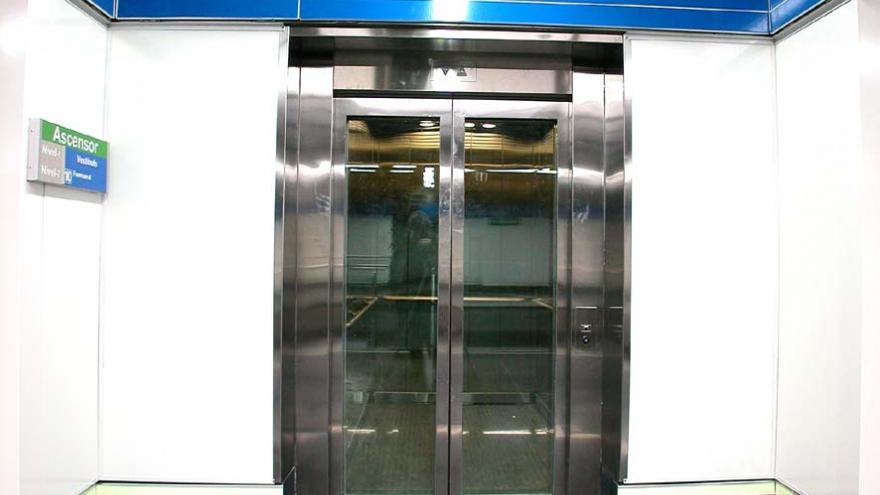 Embocadura del ascensor de Puerta del Sur