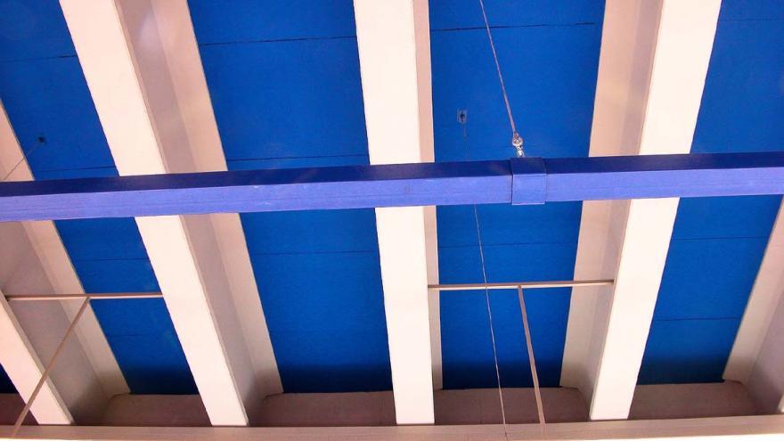 Techo e azul metro