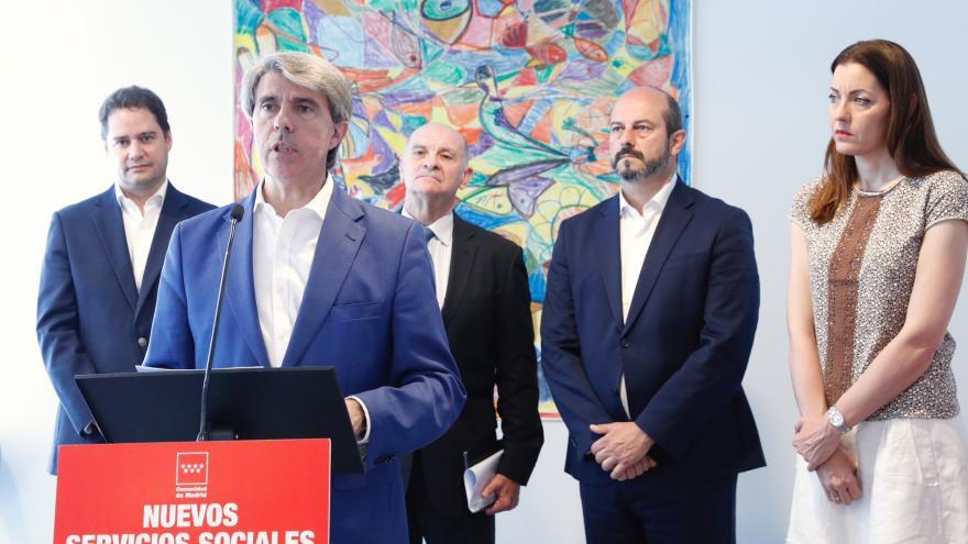 Ángel Garrido, inaugura la nueva residencia