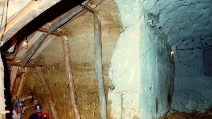 Ejecución del túnel