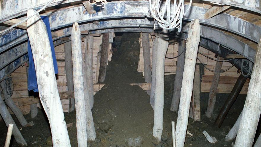 Ejecución del túnel, Galería de avance, Método tradicional