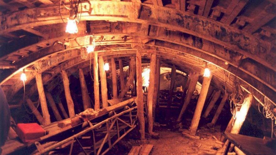 Ejecución del túnel, Galería de avance, Método tradicional de Madrid
