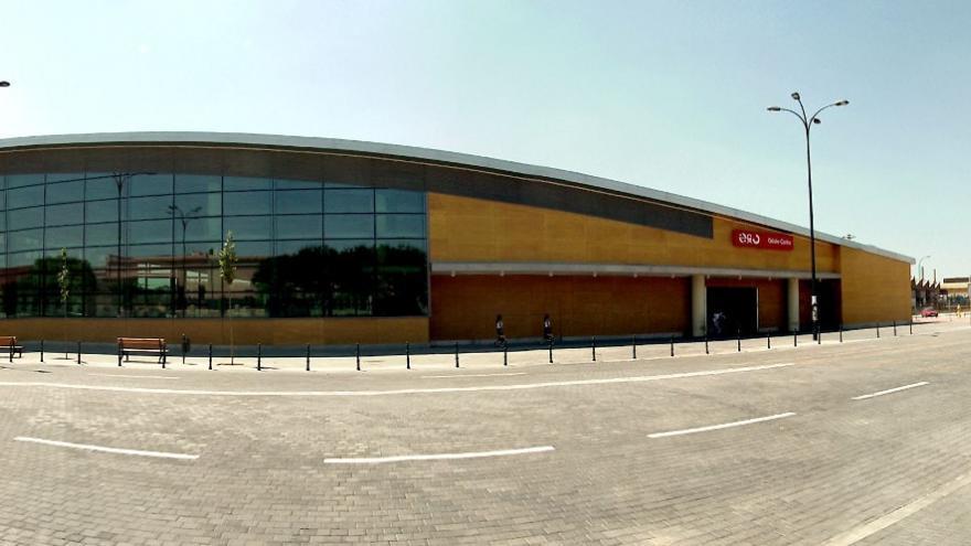 Edificio acceso estación Getafe Central