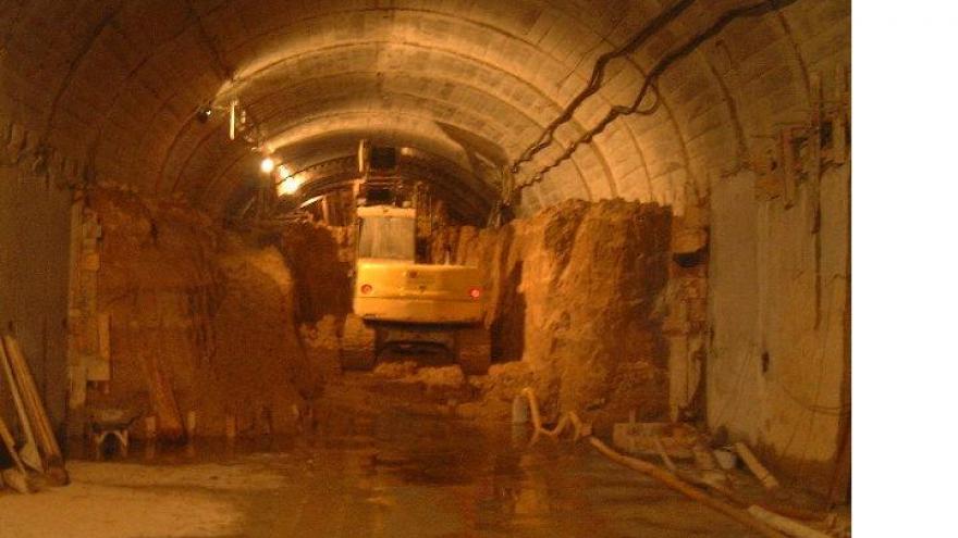 Excavación de destroza