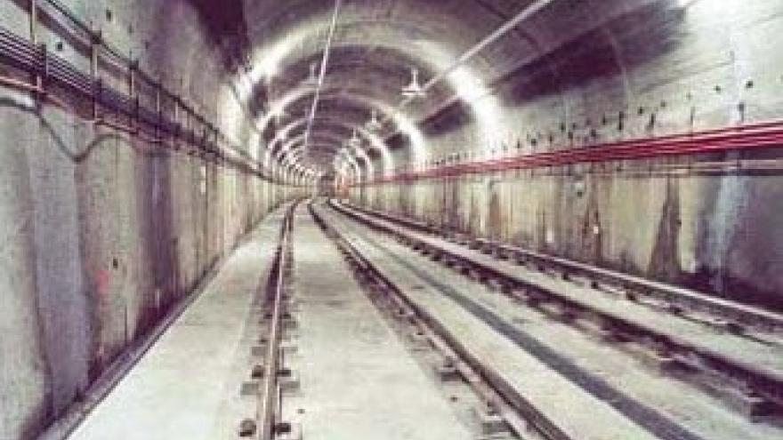 Túnel ejecutado mediante el método tradicional de Madrid