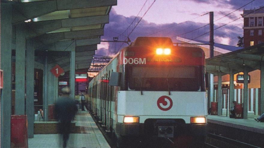Antigua estación Getafe Centro
