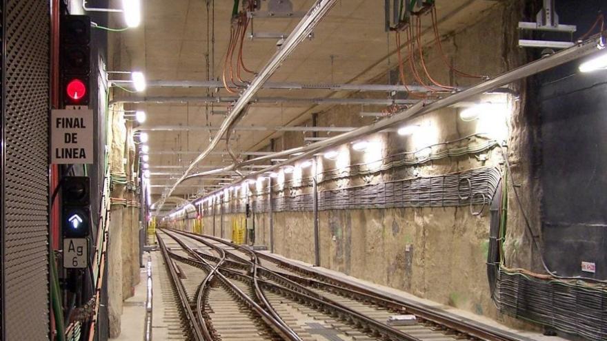 Túnel ejecutado entre pantallas