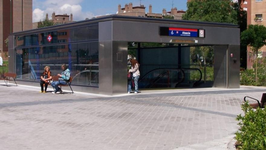 Templete de la estación Alsacia