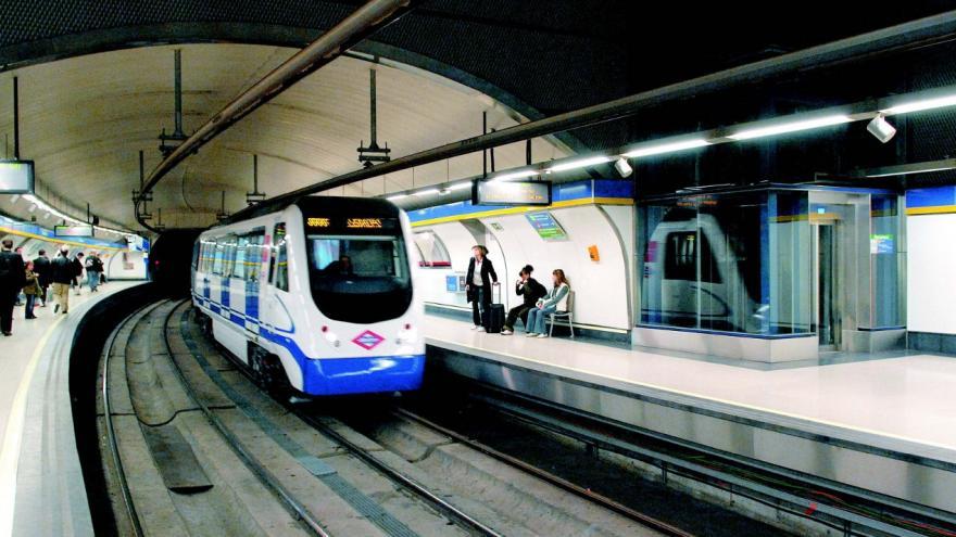 Nuevos andenes estación Embajadores Línea 3