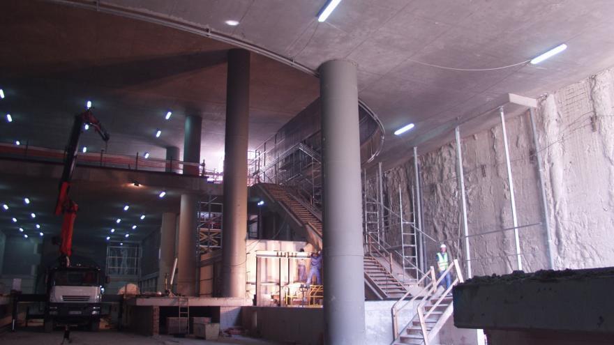 Estación Villaverde Bajo-Cruce en obras