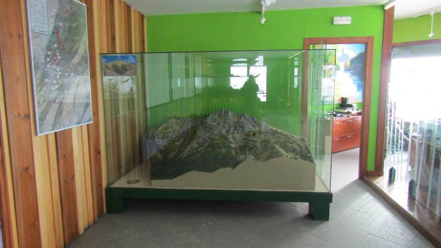 Maqueta del Centro Visitantes Peñalara