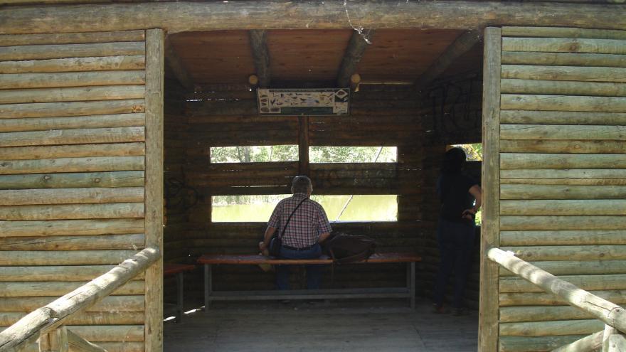 Observatorio de aves del Centro de educación ambiental El Campillo