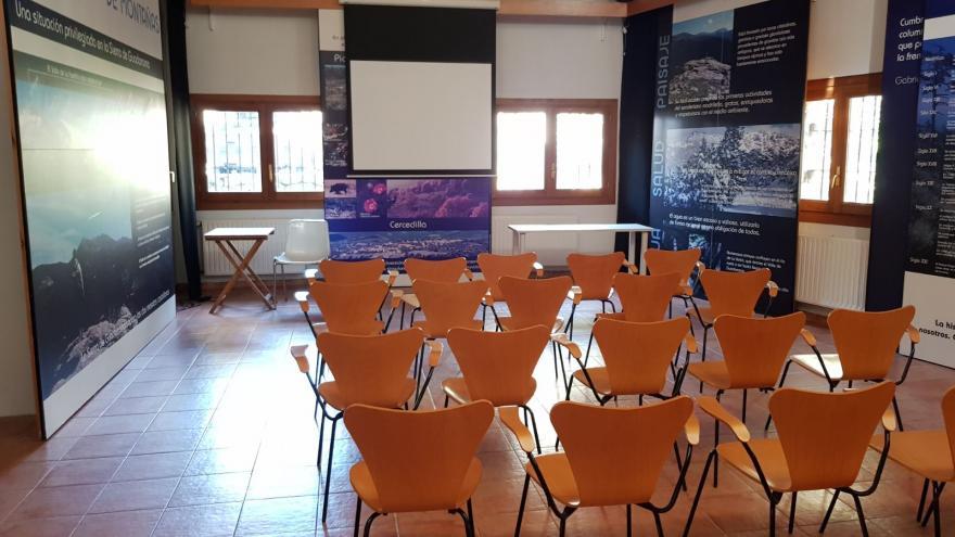 Sala de actividades Centro Visitantes Fuenfría