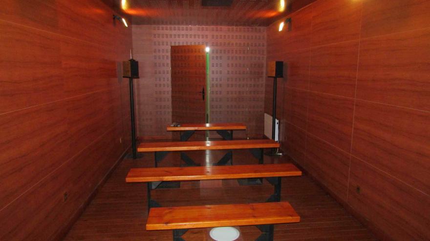 Sala de audiovisuales Centro Visitantes Peñalara