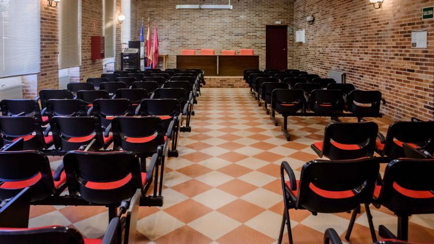AJ Los Batanes, salón de actos