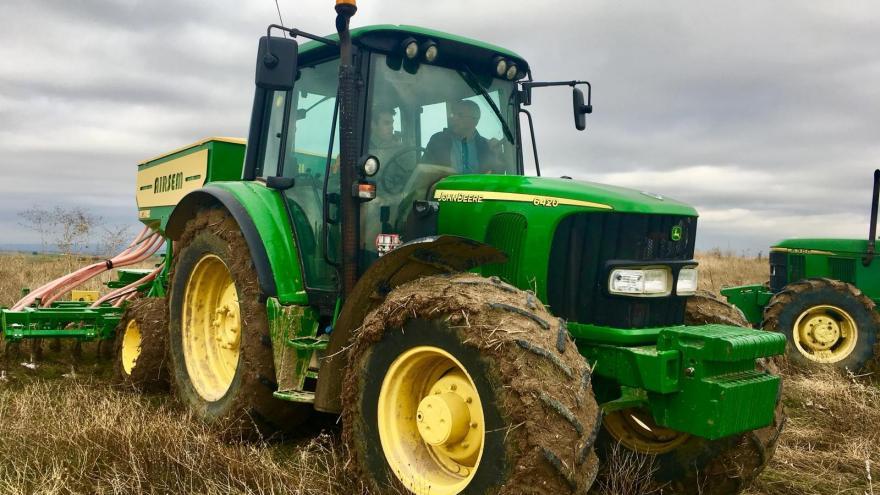 Un tractor