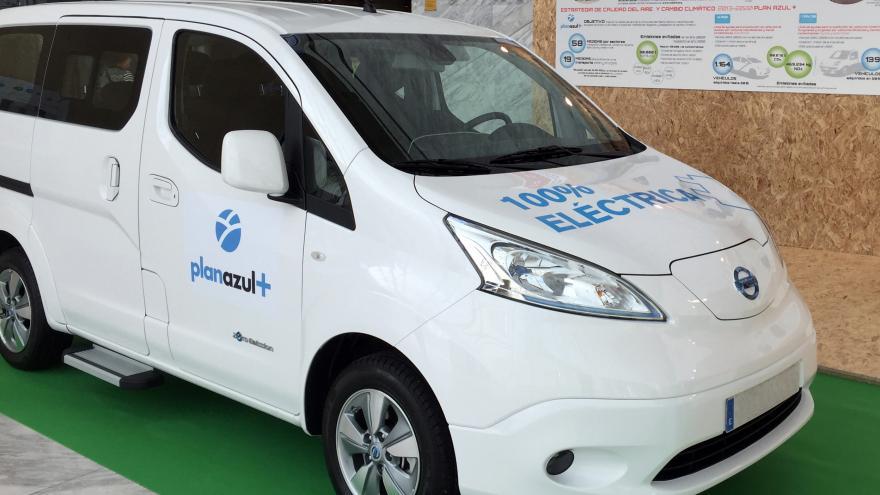 Furgoneta eléctrica Nissan