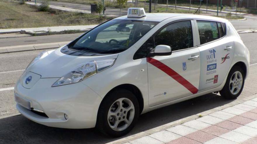 Taxi eléctrico Nissan