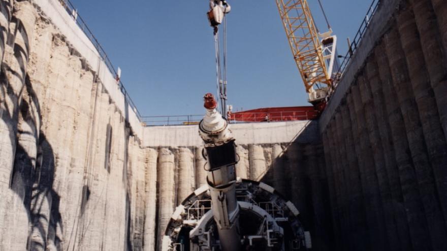 Secuencia e implantación de una tuneladora