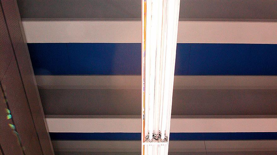 Luminarias lineales en San Nicasio