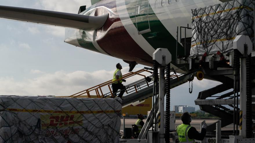Servicios de descarga aeroportuaria