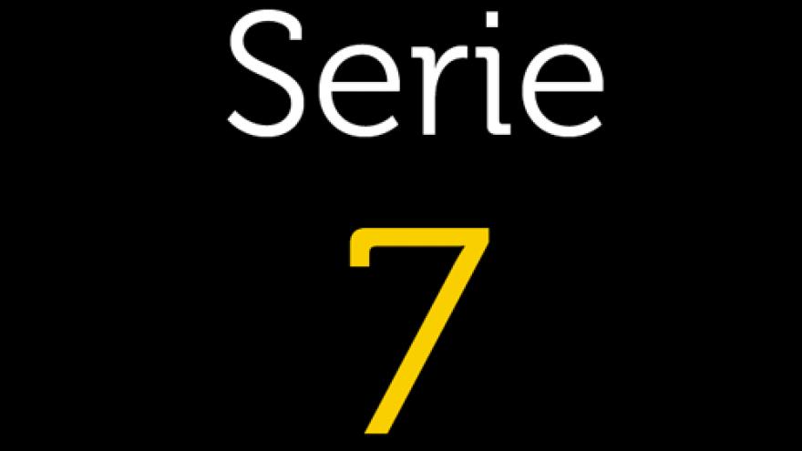 Logo de la Serie 7 de los planos de transporte público de la Comunidad de Madrid