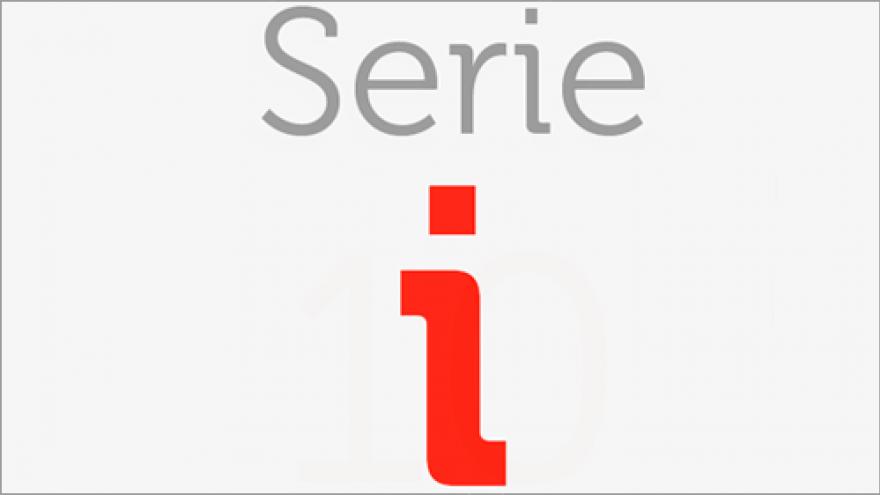 Logo de la Serie i de los planos de transporte público de la Comunidad de Madrid
