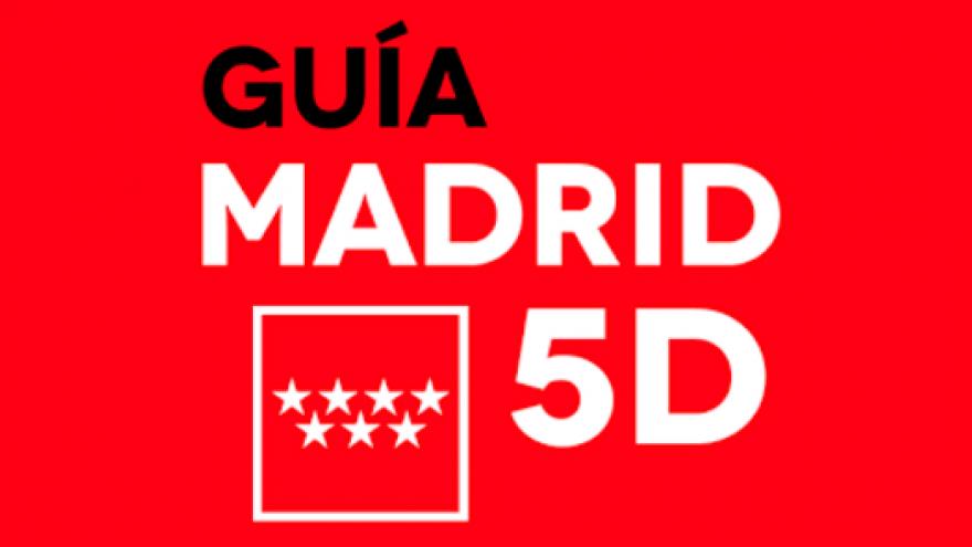 Logo de la aplicación móvil de Guía Madrid 5D