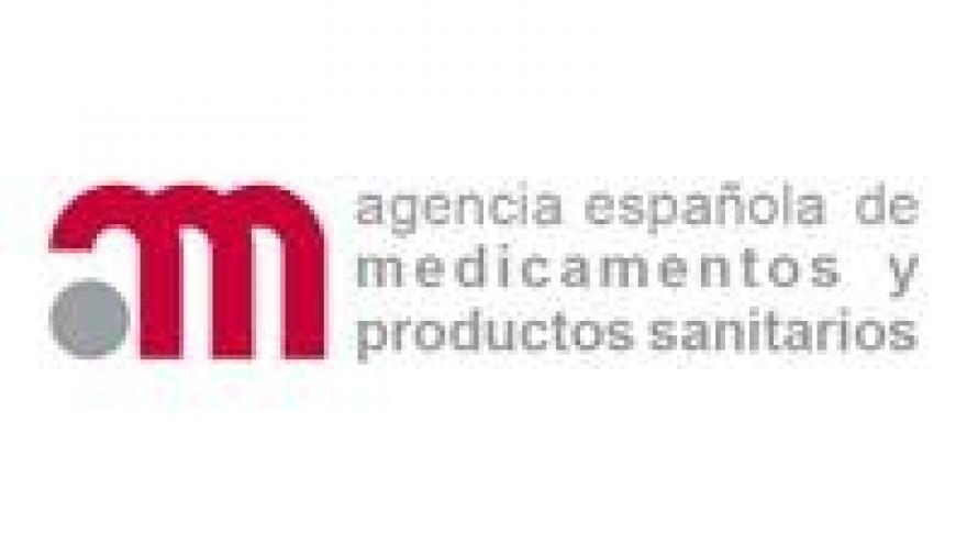 logo agencia española de medicamentos y productos sanitarios