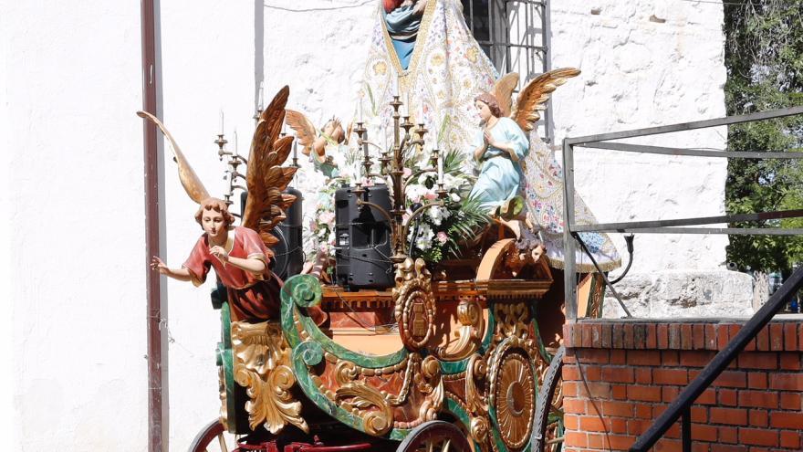Imagen de la Virgen de la Torre