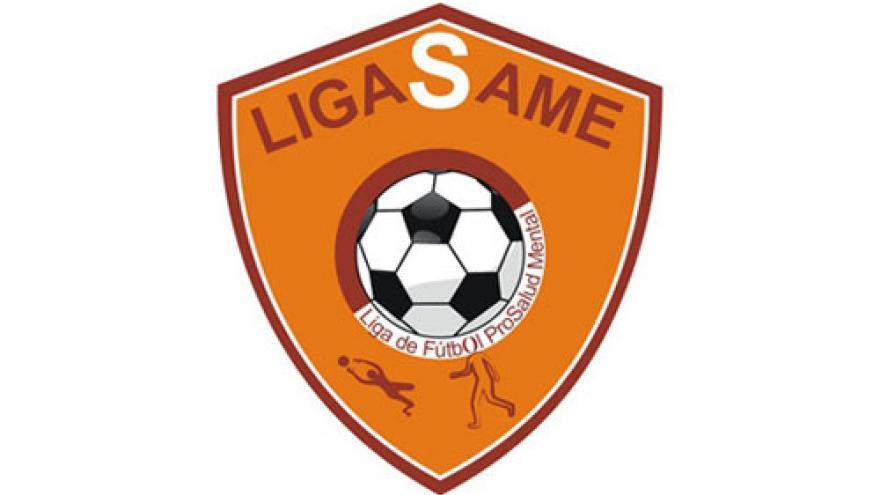 Escudo de la Liga de Fútbol Pro Salud Mental de la Comunidad de Madrid, LIGASAME