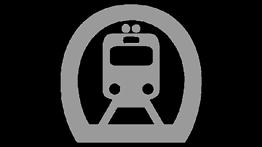 Logo de metro (modo) en gris