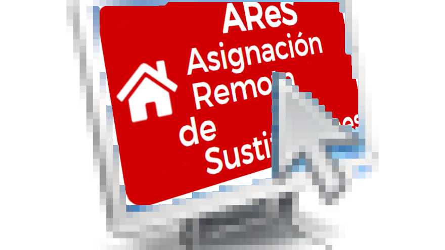 Icono de pantalla con puntero de ratón
