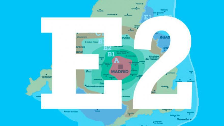 Imagen con letra y número E2