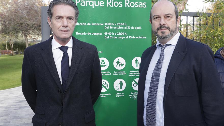 La Comunidad de Madrid abre al público un nuevo parque en instalaciones de Canal de Isabel II