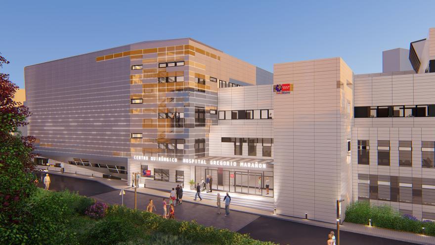 La Comunidad moderniza el Hospital Gregorio Marañón con una reforma integral que supondrá una inversión de 40 millones de euros