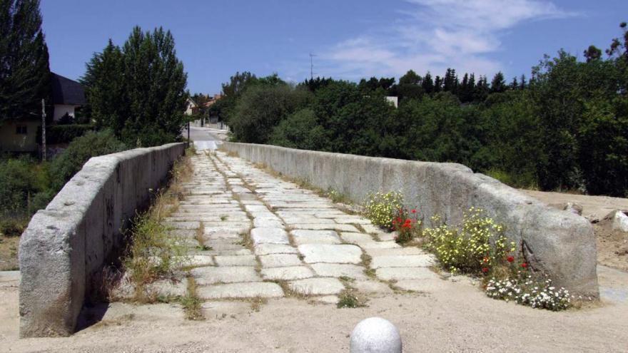 Camino real. Parque Regional del curso medio del río Guadarrama y su entorno