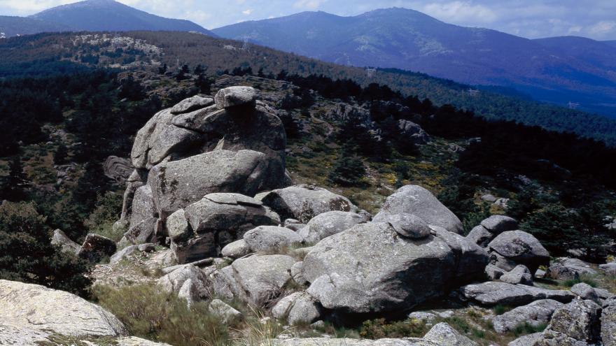 Cuenca del río Guadarrama. Peña del Arcipreste de Hita
