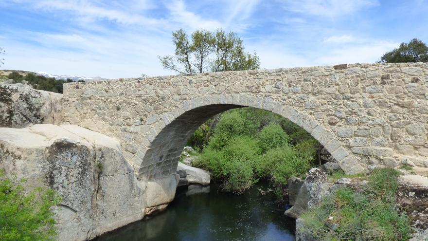 Parque Regional de la cuenca alta del Manzanares. Puente del Batán. Colmenar Viejo