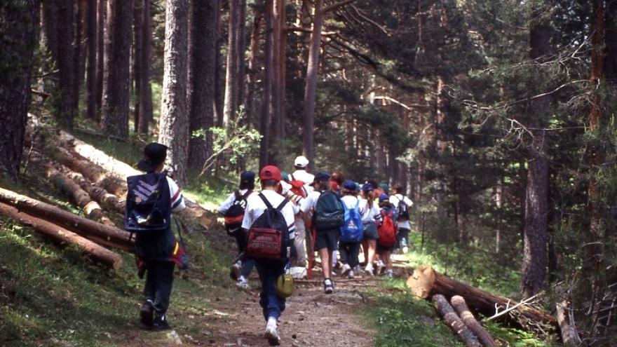 Parque Regional de la cuenca alta del Manzanares. Senda Las Tres Veredas