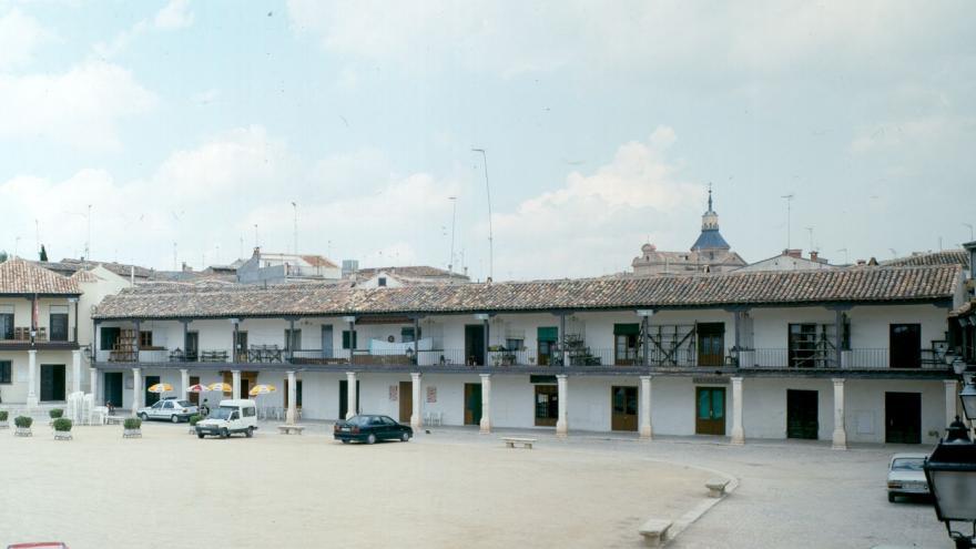 Colmenar de Oreja plaza