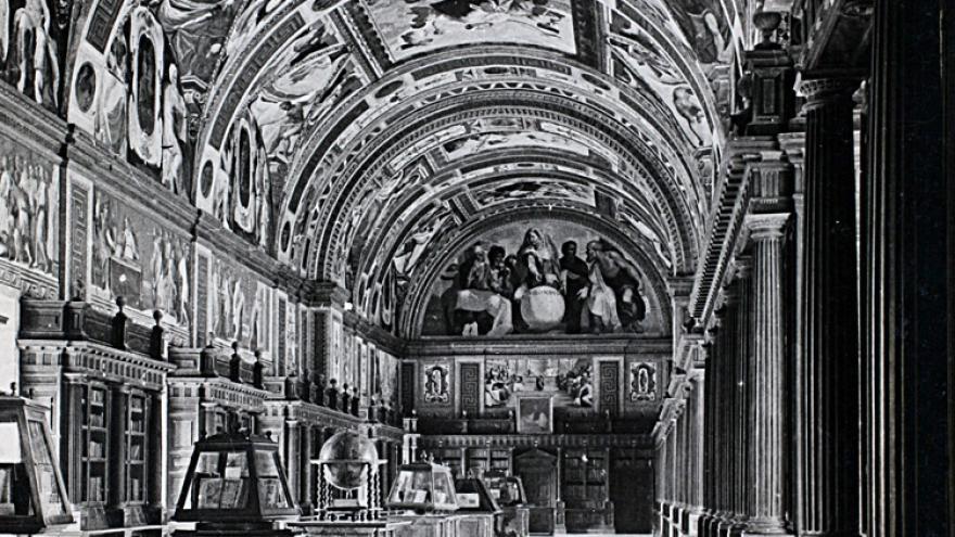 Monasterio de El Escorial. Biblioteca. (Archivo Regional de la Comunidad de Madrid).