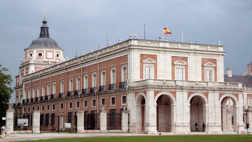 Fachada oeste del Palacio de Aranjuez.