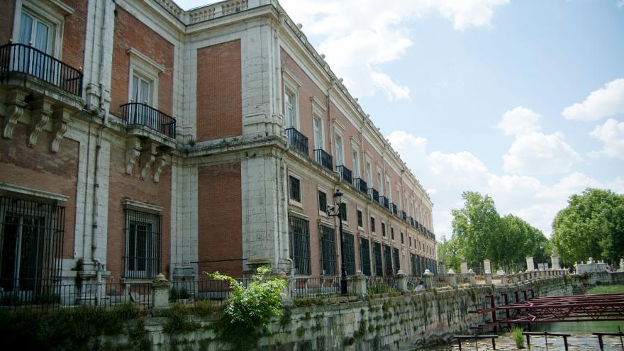 Palacio de Aranjuez. Cascada de las Castañuelas.