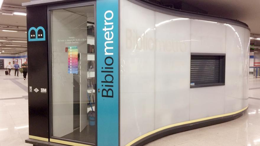 Bibliometro. Madrid.